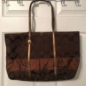 Coach Large Tote Bag